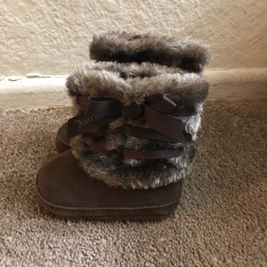 Other - Juicy Couture infants Fox fur boots